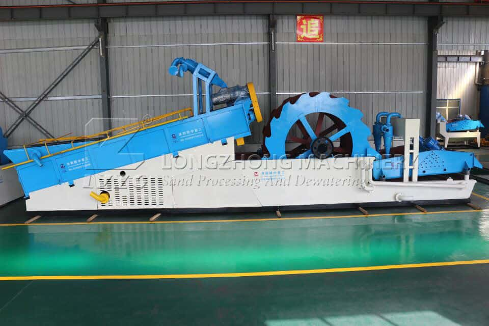 Multi Function Sand Washer is more modern.