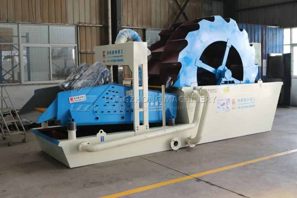 Sand washing machine can be widely used in future!