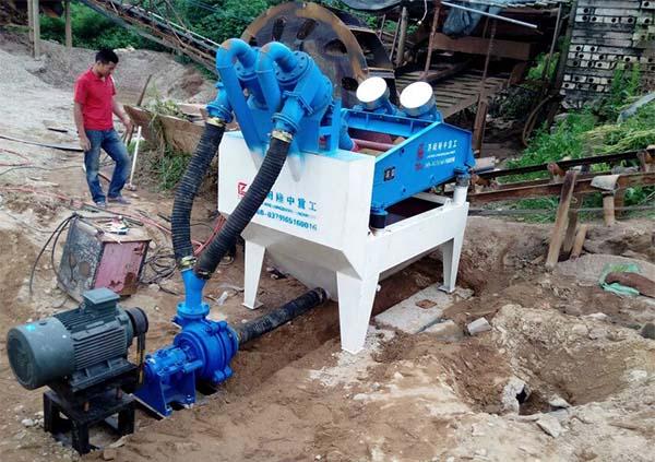 silica sand recycling machine
