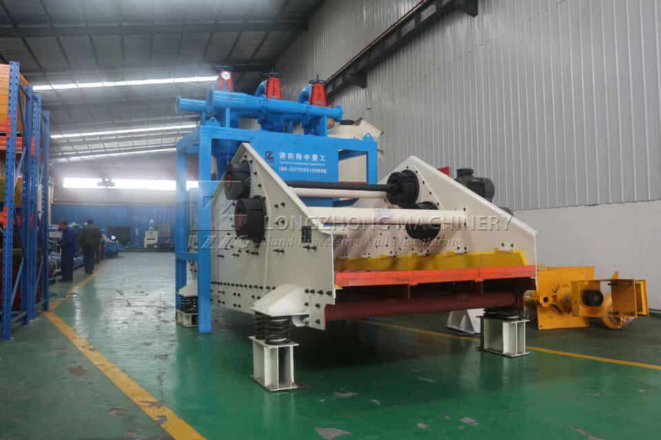 sand screen equipment for tailings