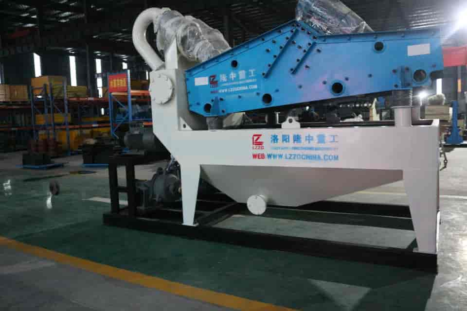 Longzhong fine sand recycling machine