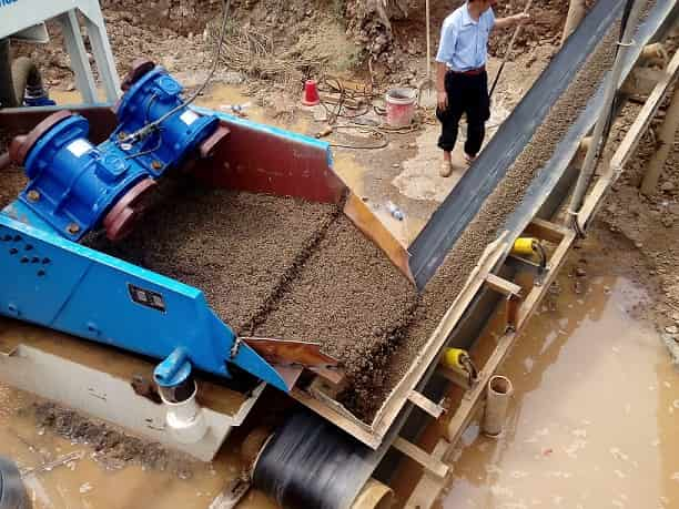 application of LZZG mobile fine sand recycling machine