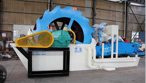 silica washing machine