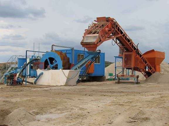 lzzg sand washing machine