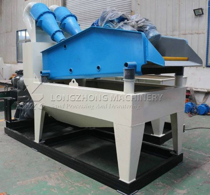 A little knowledge of dewatering find sand recycling machine