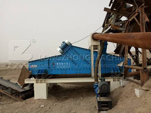 New type product-dewatering fine sand recycling machine (1)