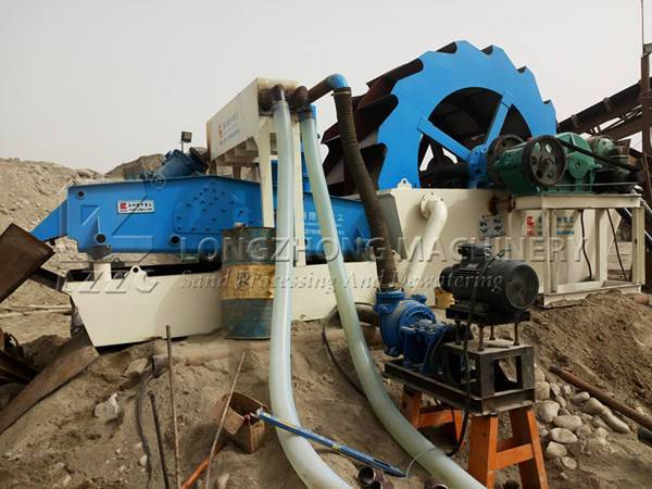 Sand washing and recycling machine solves the problem that sand contain too much soil (1)