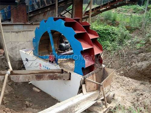 The double wheel sand washing machine is made by LZZG (1)