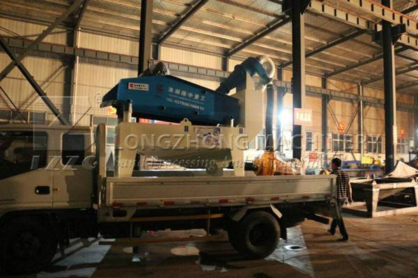 The functions of wheel sand washing machine (1)