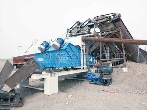 The importance of combination sand washing machine with dewatering screen (1)