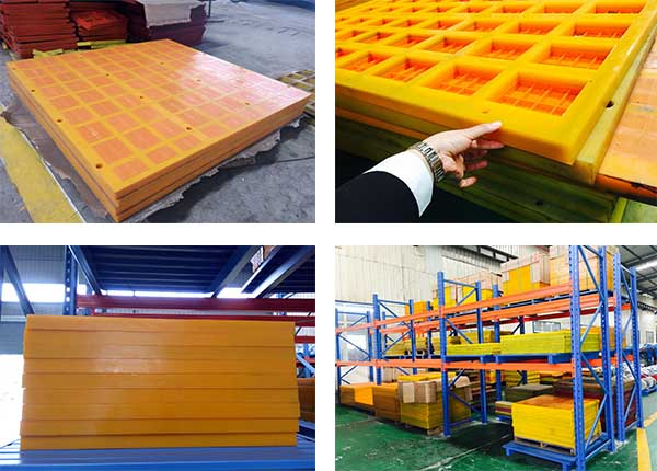 dewatering screen with cyclone