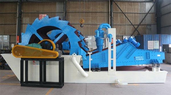 Sand washing plant process manufacturer
