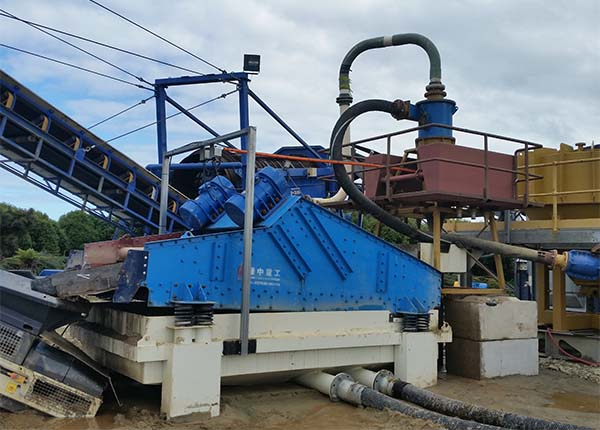 lzzg sand dewatering screen