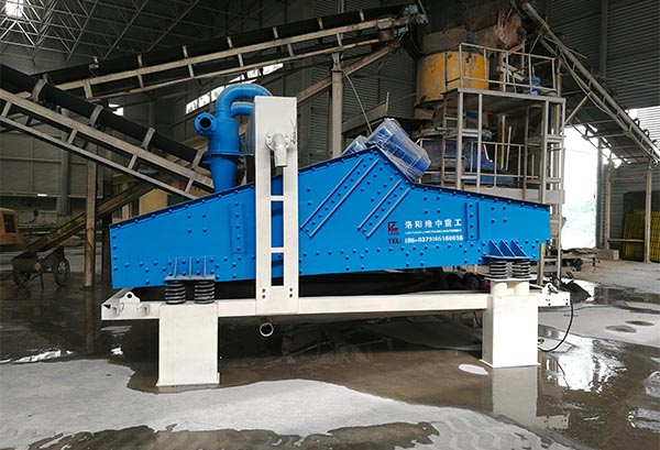 dewatering screen in potash feldspar