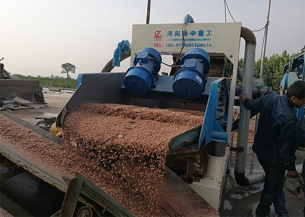 aggregate dewatering screen