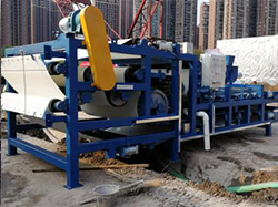 LZZG Belt Filter Press for Water Plant Sludge