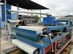 Belt Filter Press in Washing Plant