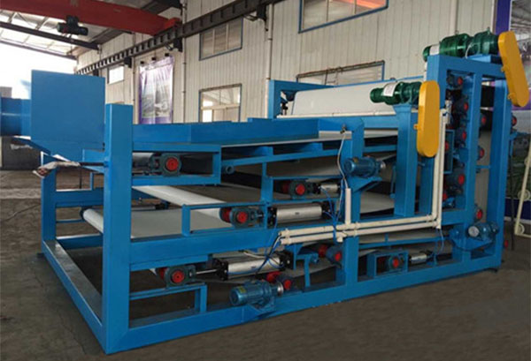 belt filter press for water plant sludge