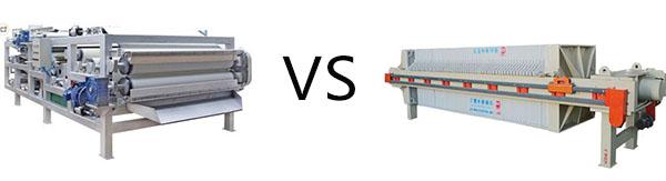 belt press vs filter press