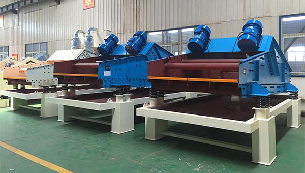 high frequency dewatering screens