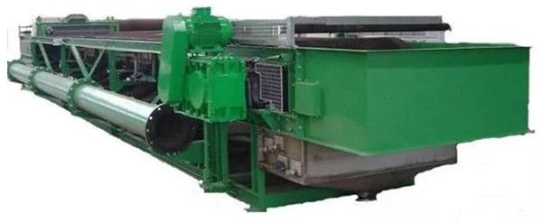 Rubber belt filter vacuum machine