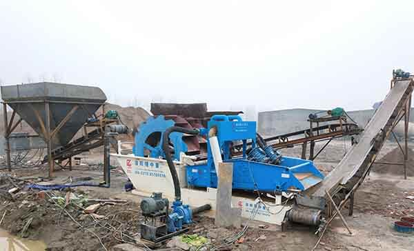 sand washing machine price