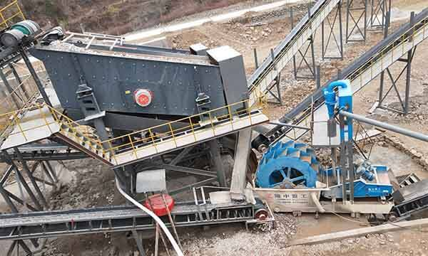 sand washing plant cost
