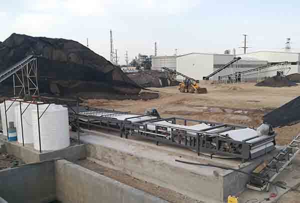 sludge dewatering technology