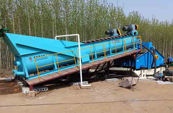 Aggregate washing equipments