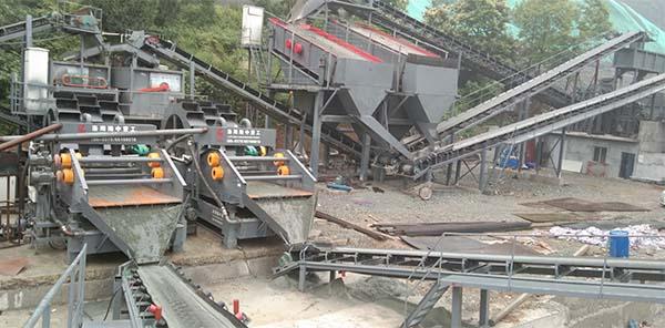construction sand washing plant