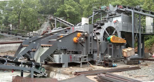 construction sand production line