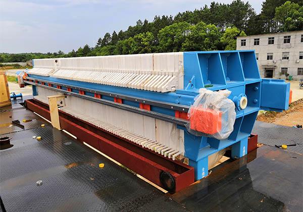 safe work procedure of filter press machine