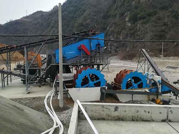 aggregate washing