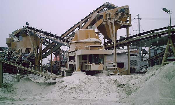 sand making
