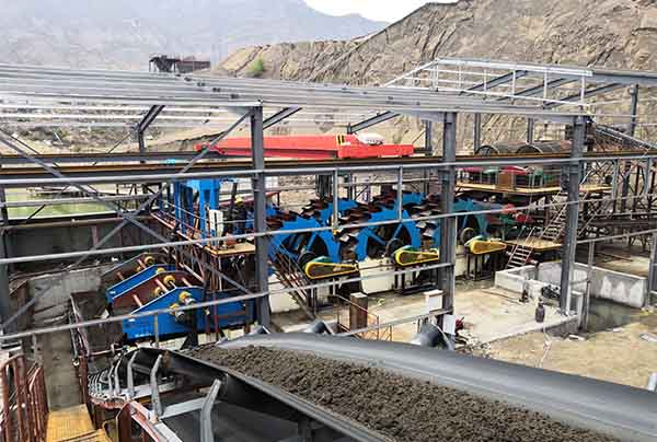 Low Water Consumption Sand Washing Plant