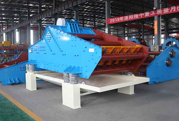sand dewatering screen