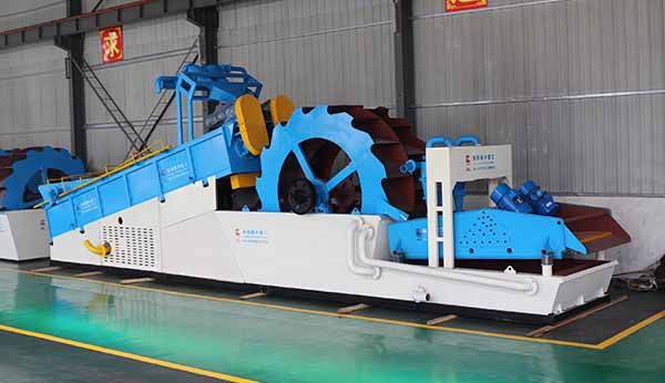 screw wheel sand washer with big capacity
