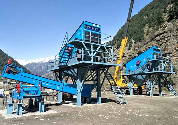mining vibrating screen