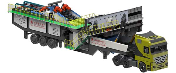 mobile sand washing plants