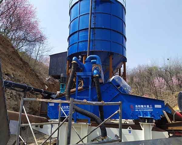 150tph aggregate wash plant